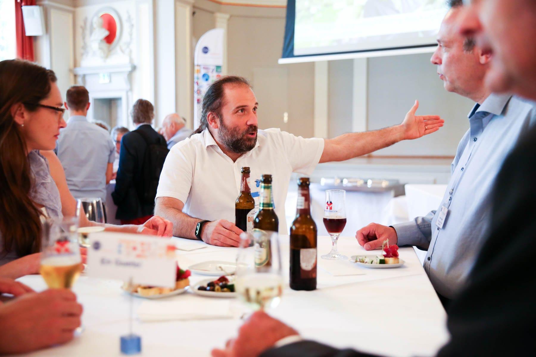 Matthias Wiesmann talking