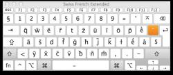 Swiss French Keyboard - Macron Mode