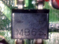 MB6S chip