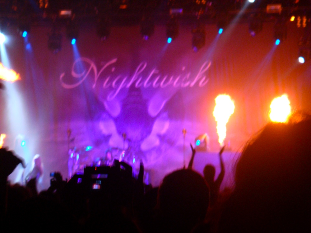Nightwish Zürich 2008 - Pyrotechnique