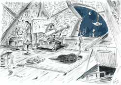 Oasis des deux Lunes: observatoire