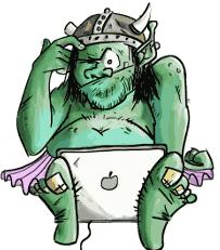 Mascotte Orc-idée 2012