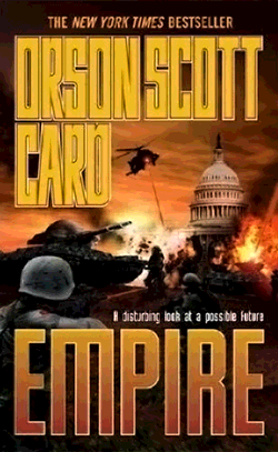 Orson Scott Card – Empire – Cover – Bob Warner