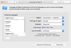 Mac OS X El Capitan – Localisation