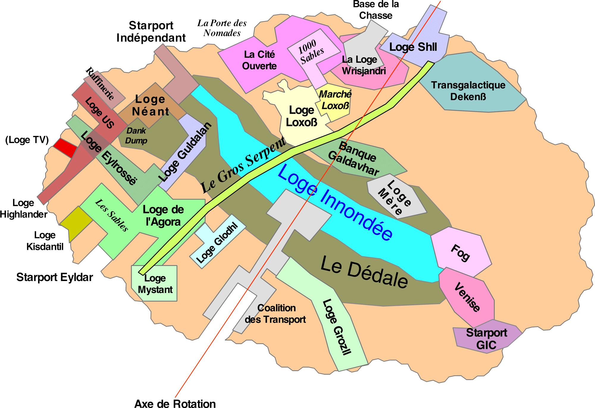 Plan de la station Narita
