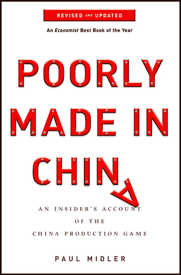 Cover of the book Poorly Made in China (with A letter falling)