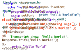 Programming Babel - Hello World