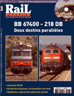 Rail Passion BB 67400 - 218 DB Deux destins parallèles