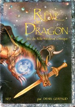 Couverture Rêve de Dragon Première Édition Ⓒ Nouvelles Éditions Fantastiques