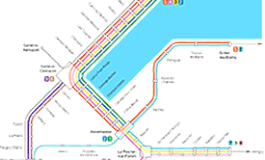 Plan RER Genève Horizon 2016
