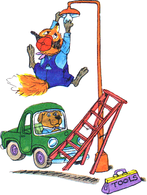 Richard Scarry differences / Différences Richard Scarry