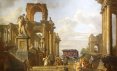 Painting of the Ruins of the Roman Forum