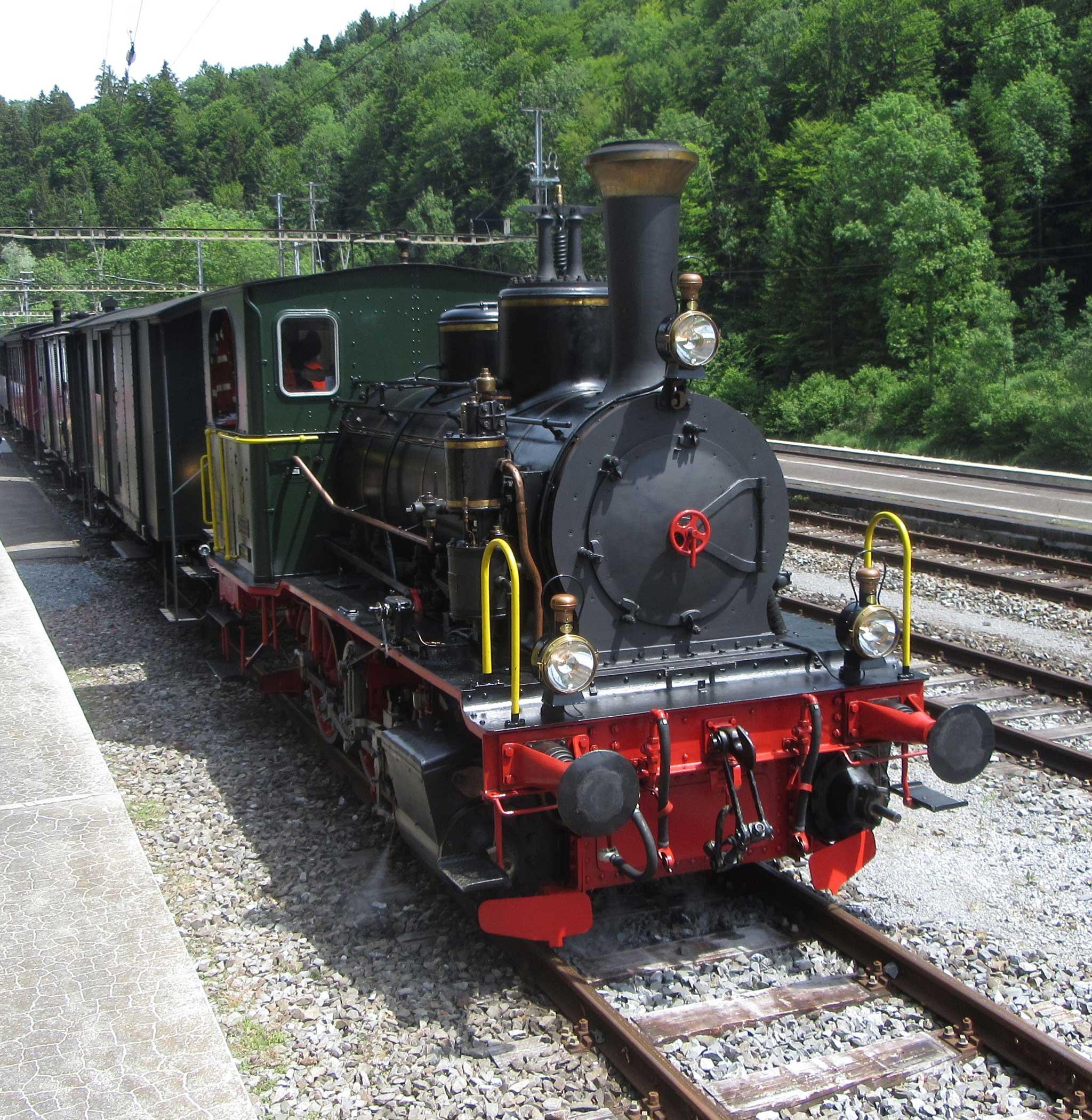 Steam locomotive E 3/3