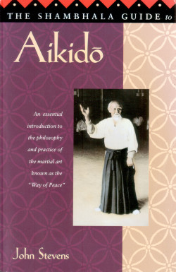 Cover of the Book, with a picture of Morihei Ueshiba