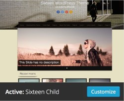 Screen Capture – Active: Sixteen Child