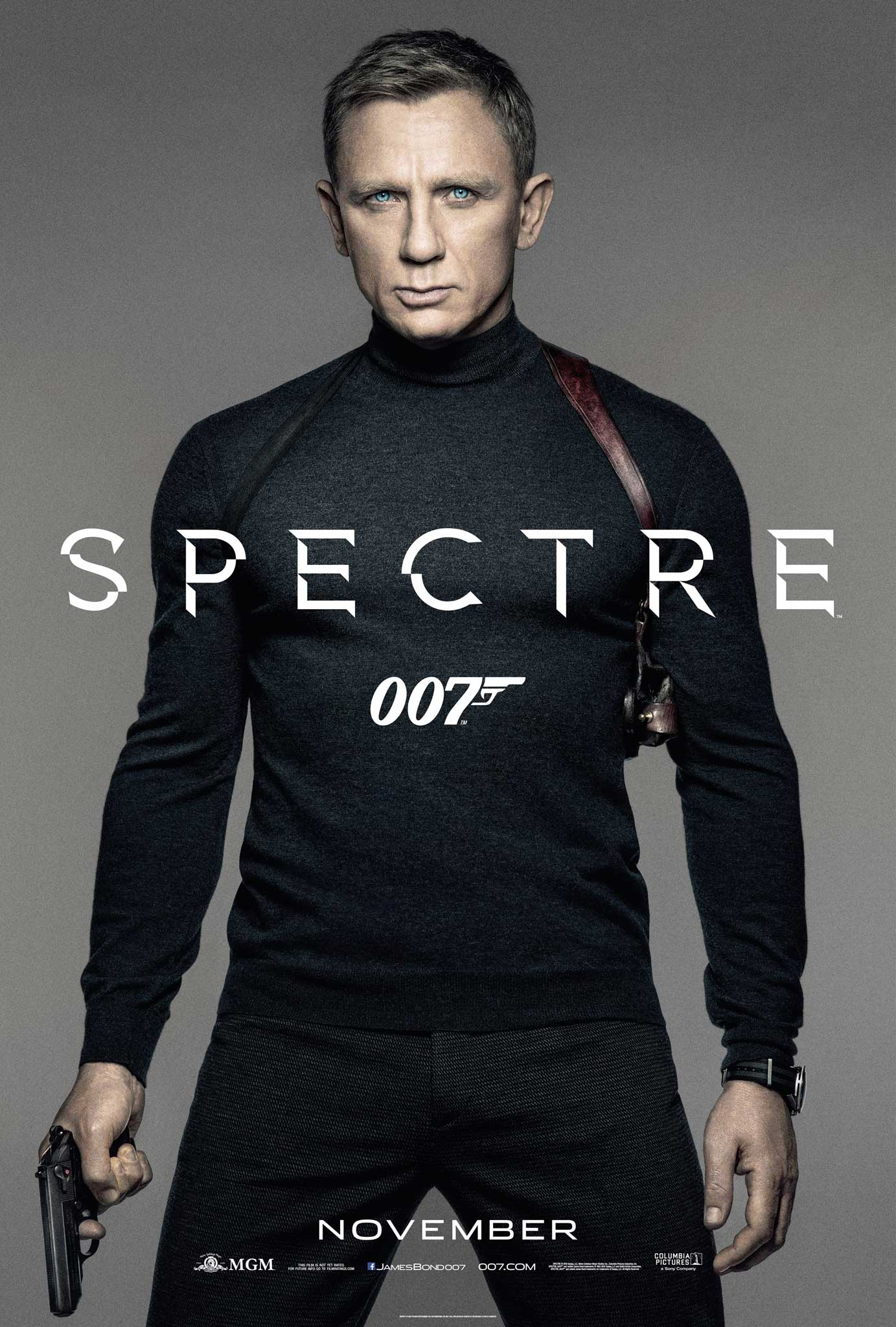 Daniel Craig in a black turtleneck
