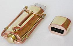 Steampunk USB Key