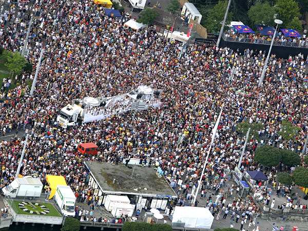 Street Parade 2007, Air View