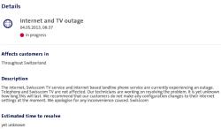 Swisscom Outage