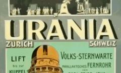 Affiche pour l'Observatoire Urania à Zürich