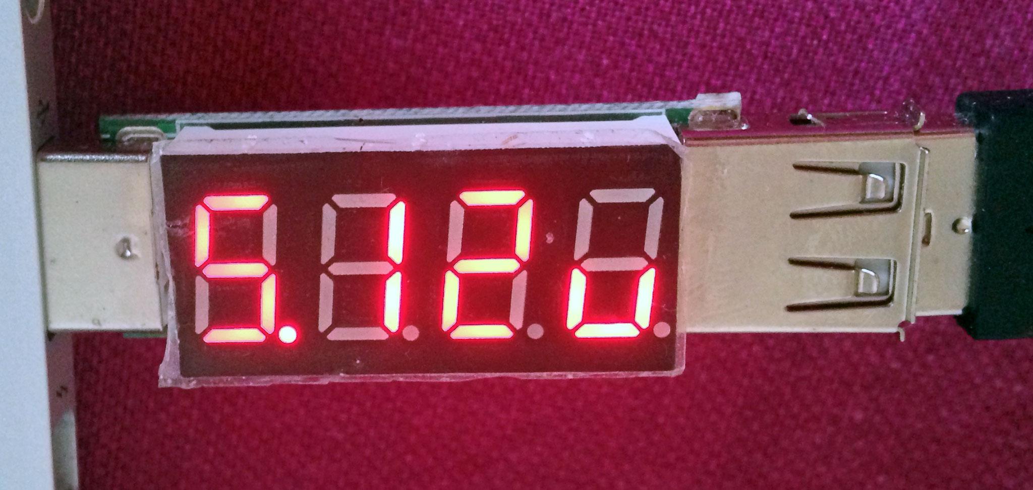 USB Power Meter – 5.12 v