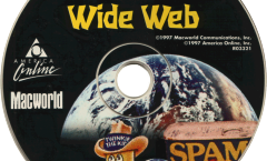 Picture of the Weird Wide Web Disk