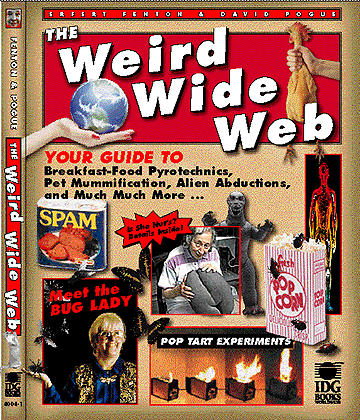 Weird Wide Web Book Cover
