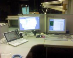My workplace at JAIST