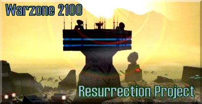 Warzone 2100 Resurrection Project Banner