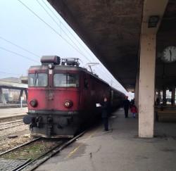 Locomotive ŽS 441 en gare de Niš