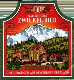 Naturtrübes Zwickel Bier&x13;Rugenbräu&x13;Der Biergenuss aus dem Berner Oberland